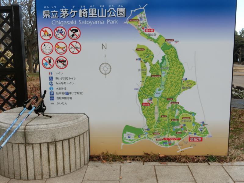 公園の平面図、一回り4㎞?