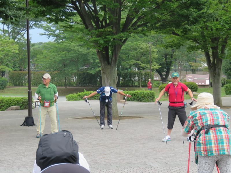 田井上級インストラクターの指導