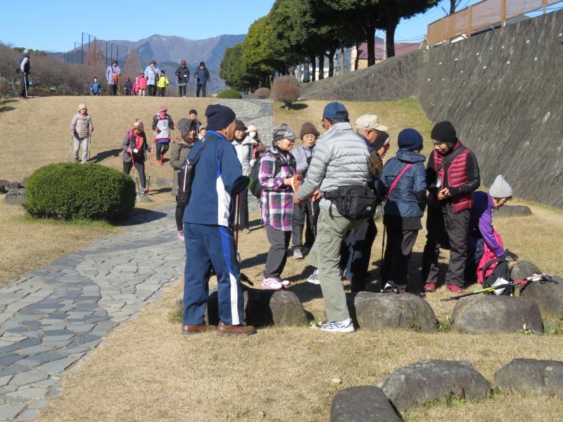 富士見橋付近で休憩