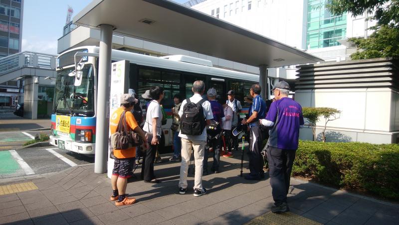小田原駅から箱根園行きバスの乗る