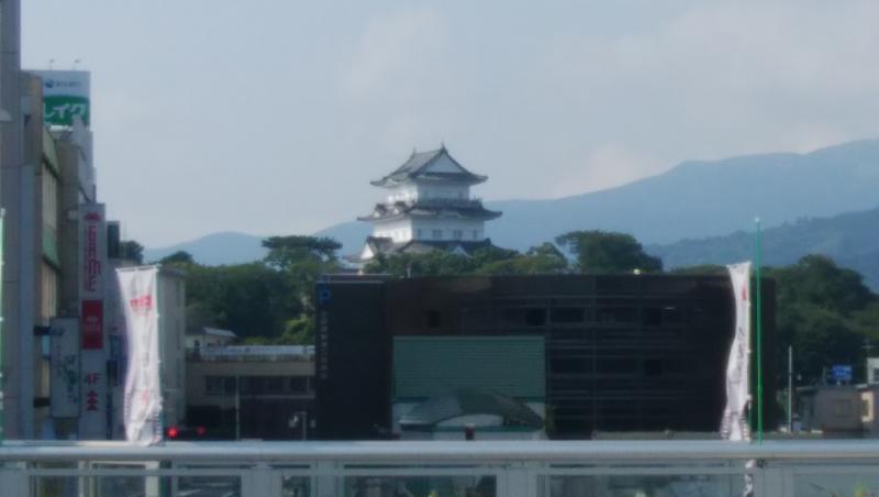 小田原城です