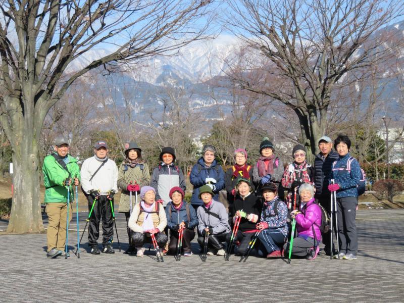 丹沢の山は雪化粧