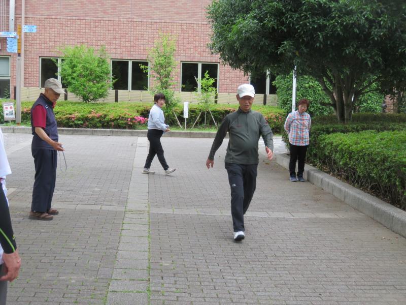 5m歩行の測定