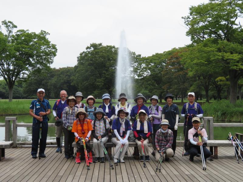 代々木公園水の回廊で