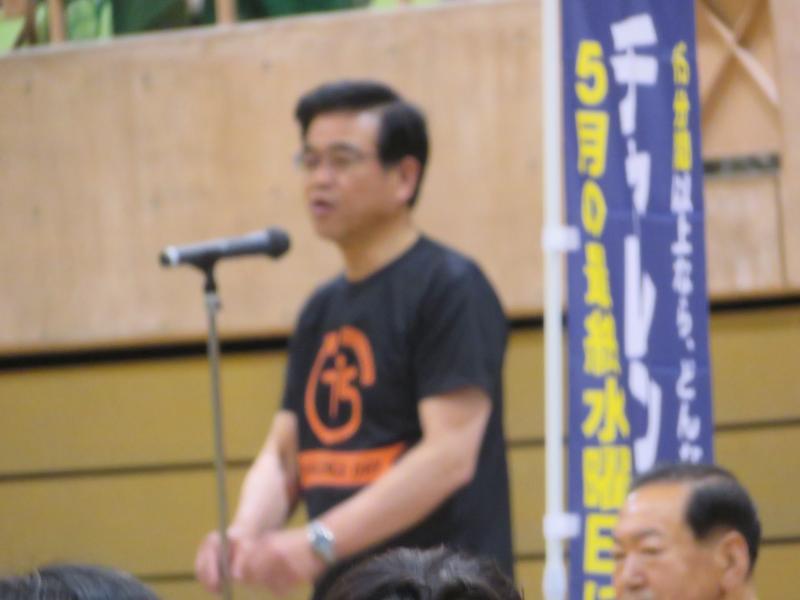 開会式の挨拶(高橋市長)