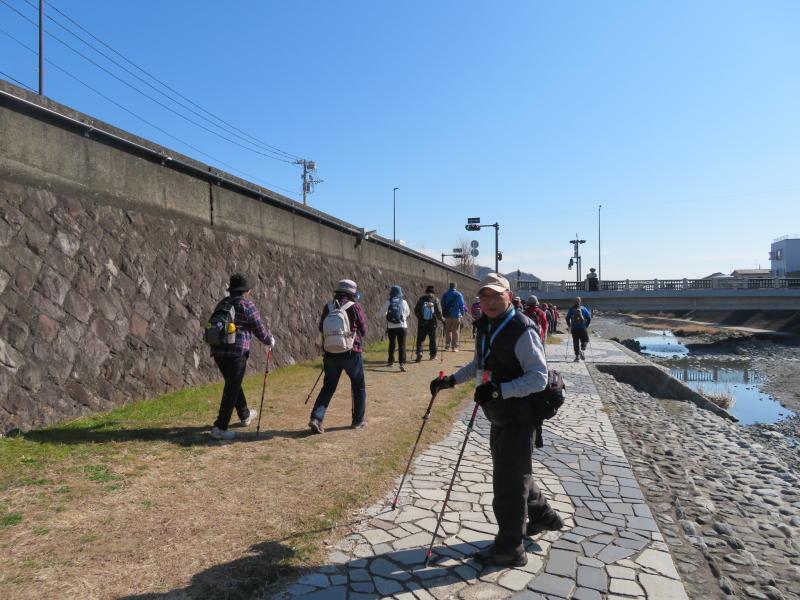 今日は大川橋まで