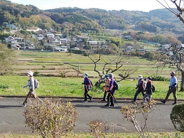 右手には大井町山田地区が見れます