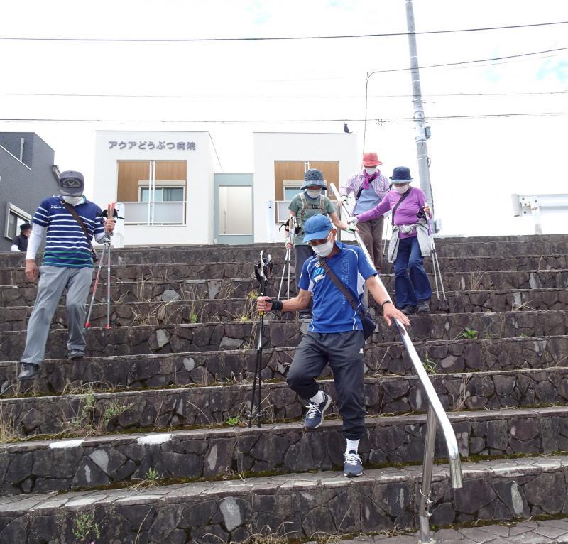 段差がある階段