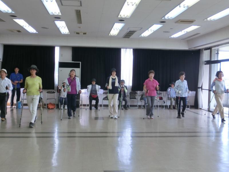 福沢公民館にて