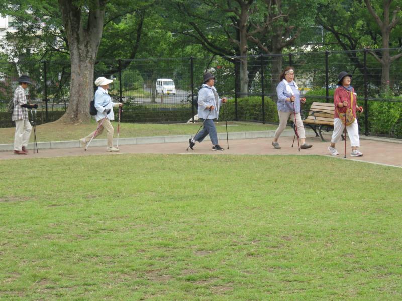 ピクニック広場にて