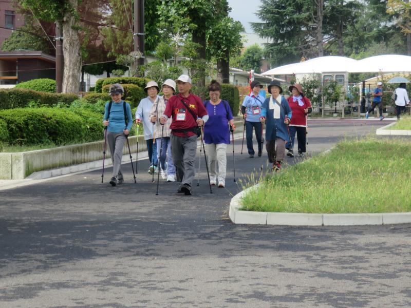 かめグループは間もなくピクニック広場