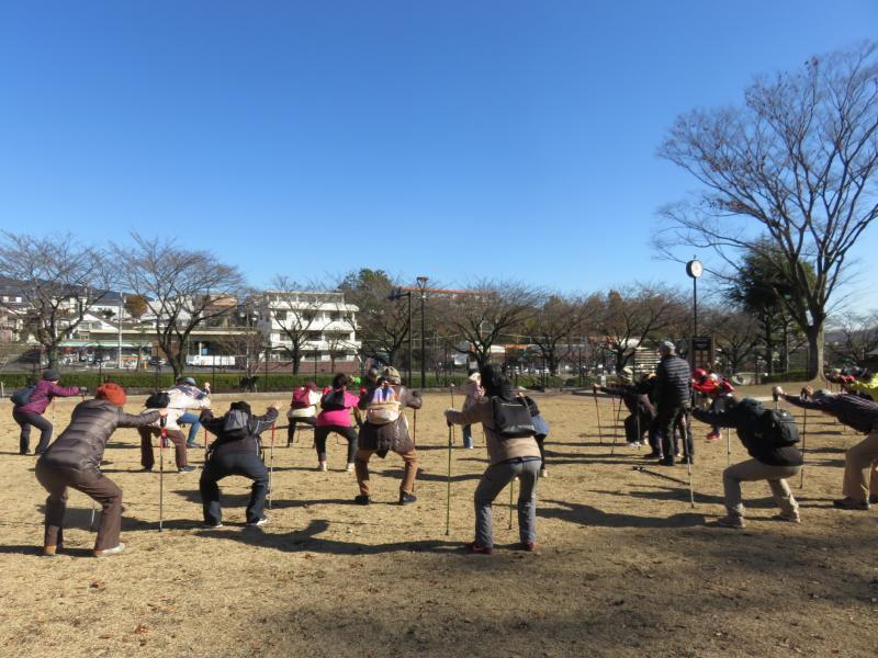 筋トレ(ピクニック広場)