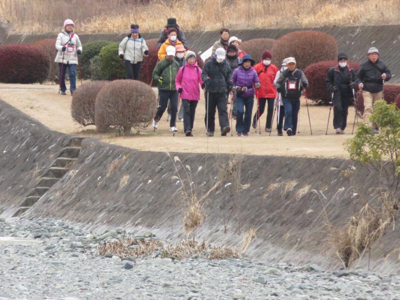 ウサギグループは水無川