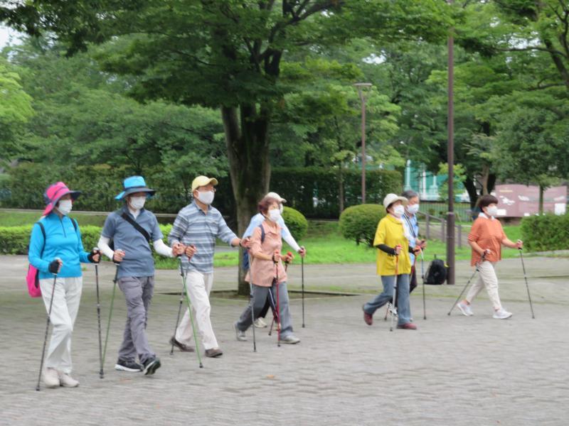 PW歩行の復習
