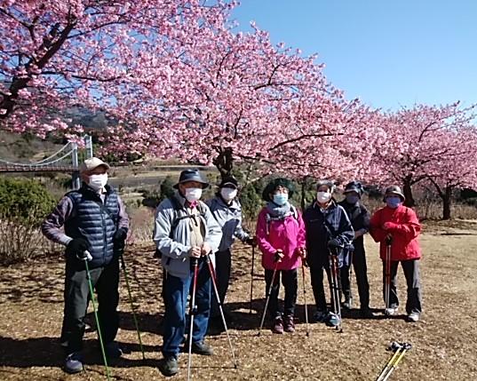 こがめさんグループは花見でーす